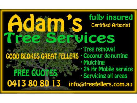 Adam's Tree Services