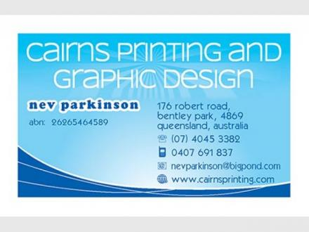 Cairns Printing and Graphic Design