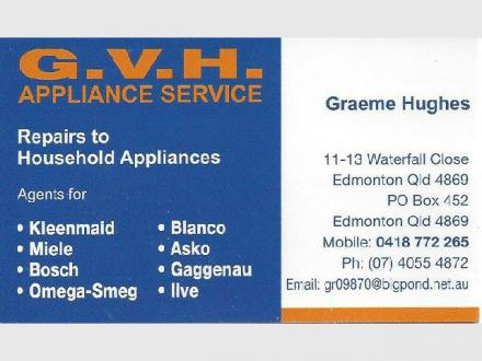 GVH Appliance Service