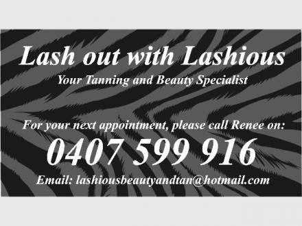 Lashious Beauty & Tan by Renee