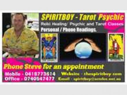 Spiritboy Psychic Readings and Healings