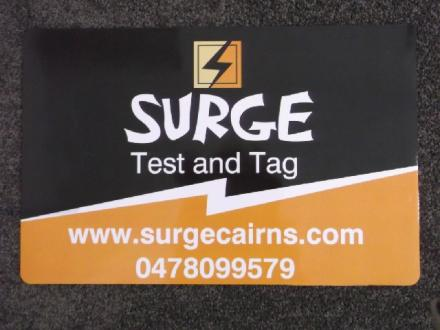 SURGE Test and Tag