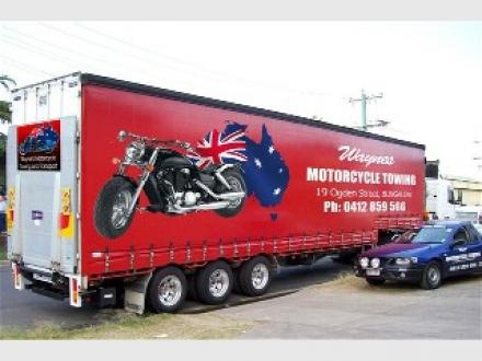 Wayne's Motorcycle Towing