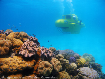 Great Barrier Reef Submarine