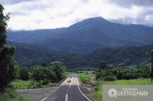 The road to Bellenden Ker - near Babinda